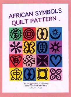 SFQP420 African Symbology Quilt Pattern©